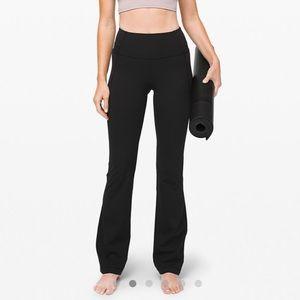 Lululemon All Black Groove Pants Luxtreme 8